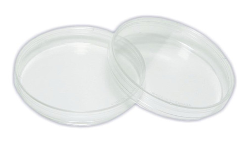 Petri Dishes, polystyrene, 90 x 15 mm, 2 pack