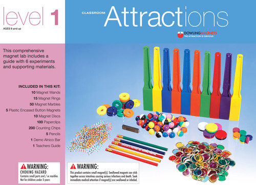 Classroom Magnetic Attractions Kit - Level 1