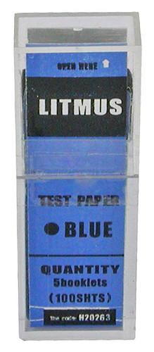 Litmus Paper, blue, 100 strips