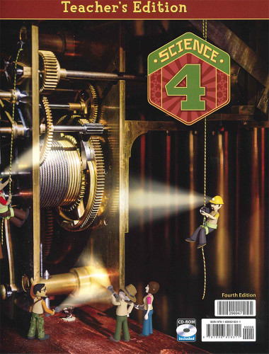 BJU Press Science 4 Teacher's Edition