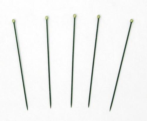 Insect Pins (entomological), size 4, black enamel