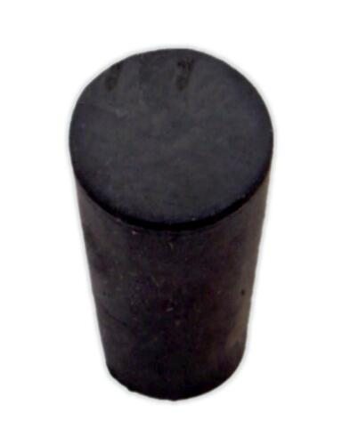 Rubber Stopper, #00, solid