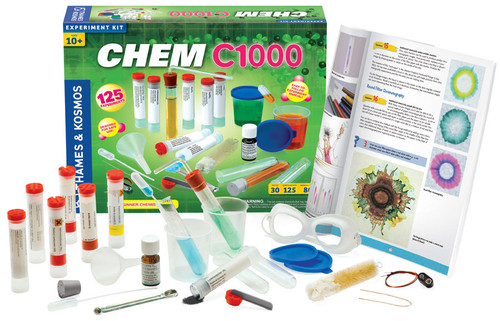 thames and kosmos chem c100 kit and components
