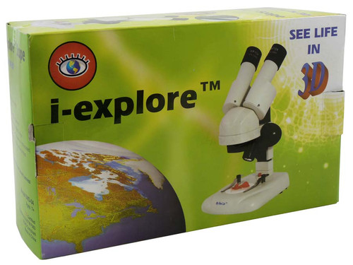 20x i-Explore Stereo Microscope