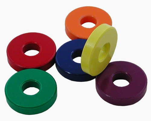 "Ring Magnets, 1-1/4"" OD, 6 pack"