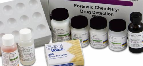 Drug Detection Kit For Forensic Chemistry