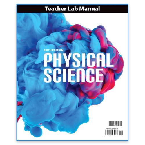 BJU Press Physical Science 9 Teacher Lab Manual