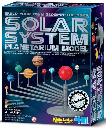 4M Solar System Planetarium Model Kit