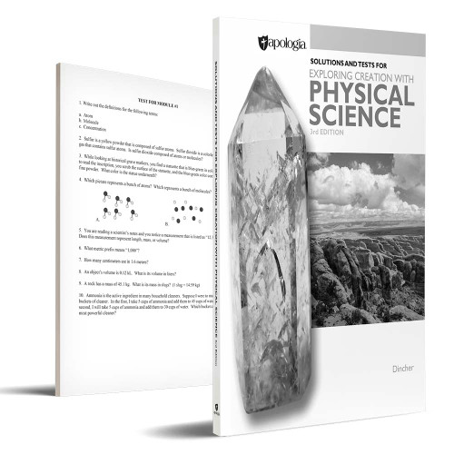 Apologia Physical Science - Tests & Key