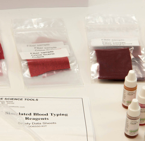 Crime Scene Science Classroom Refill Kit