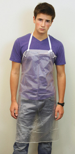 Lab Apron No. 2, heavy vinyl, 8 mil