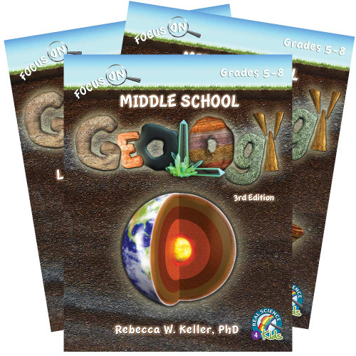 Focus On Middle School Geology Set