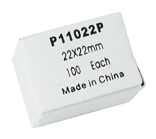 Slide Coverslips, plastic, 100 pack