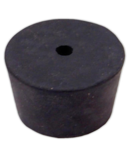 Rubber Stopper, #10, 1-hole