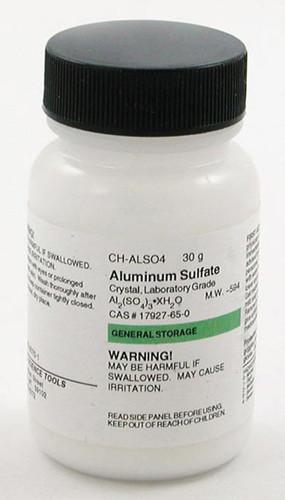 Aluminum Sulfate, 30 g
