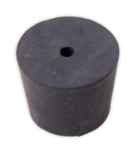 Rubber Stopper, # 6.5, 1-hole