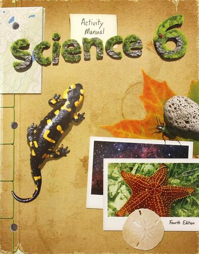 BJU Press Science 6 Activity Manual