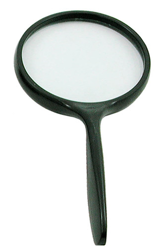 "Magnifying Glass, 4"", 2.5X Lens"