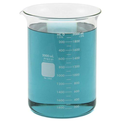 2000 ml beaker pyrex