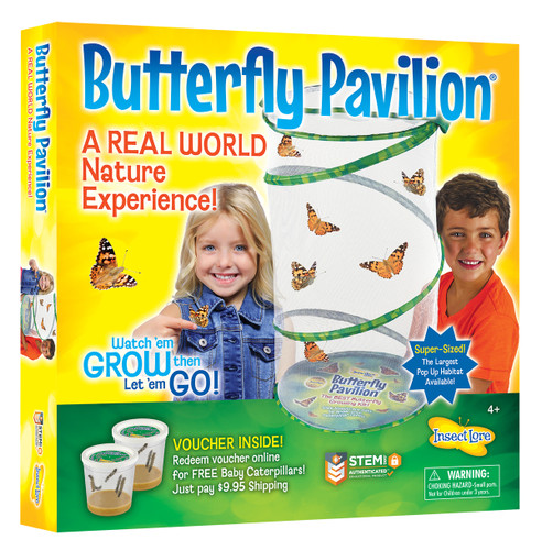 """Insect Lore Live Butterfly Pavilion, 23"""""""