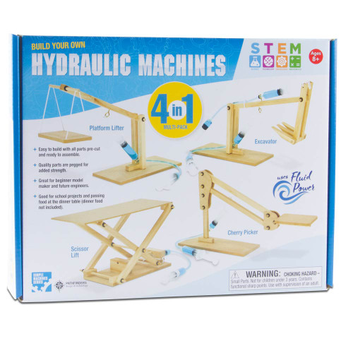 Hydraulic Machines 4-in-1 Pack