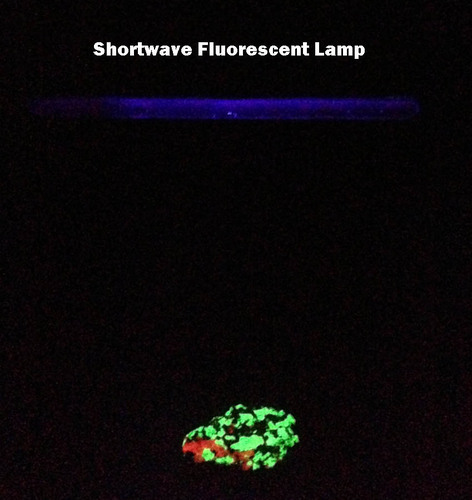 Shortwave and Longwave Ultraviolet Lamp