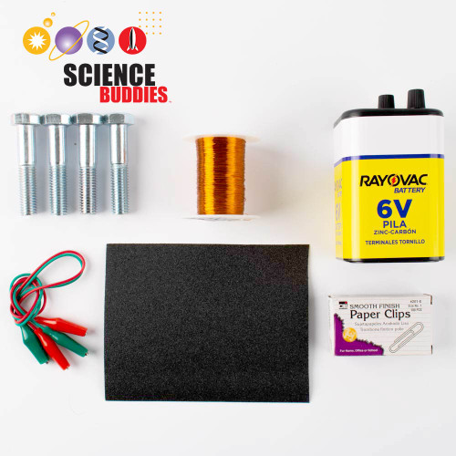 Strength of an Electromagnet Kit
