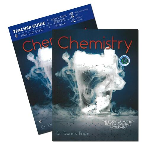 Master Books Chemistry, Text and Teacher's Guide