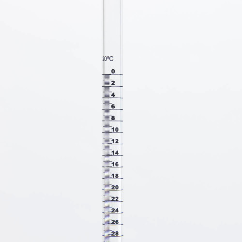 Burette, 100 ml, acrylic, PTFE Stopcock