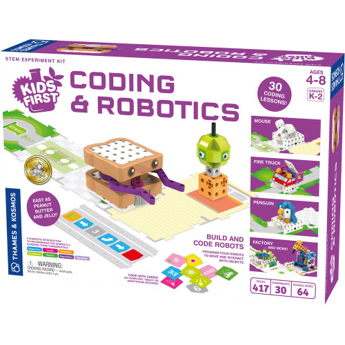 Thames & Kosmos Kids First Coding & Robotics