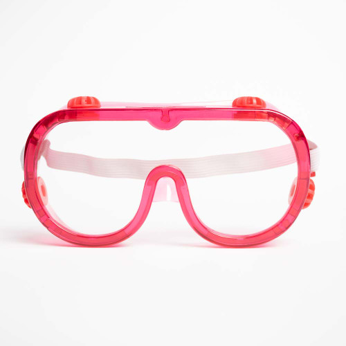 Colored Safety Goggles, 6 Pack