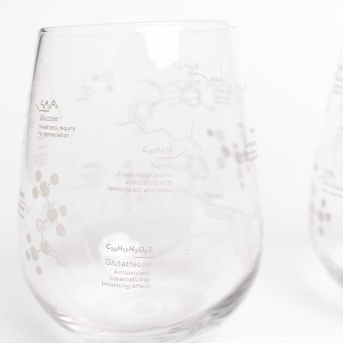 Science of Wine Stemless Wine Glass - 2 pack