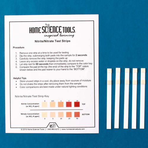 Nitrate & Nitrite Test Strips, 5 pack