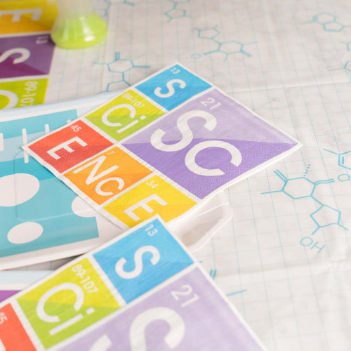 Science Party Napkins, 16 Pack