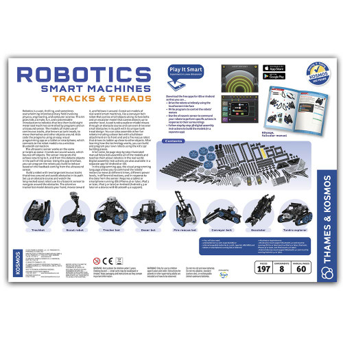 Thames & Kosmos Robotics, Smart Machines Tracks & Treads