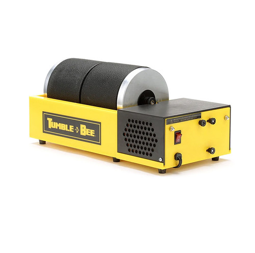 tumble-bee double barrel rotary rock tumbler