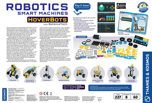 Thames & Kosmos Robotics, Smart Machines - Hoverbots