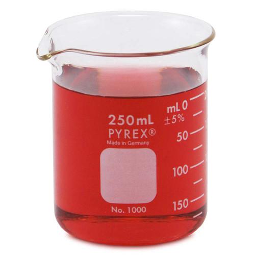 PYREX Beaker, Low Form, 250 ml