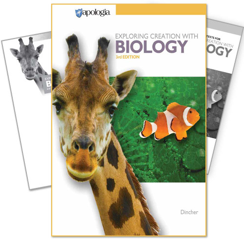 Apologia Biology - Text, Tests, & Key