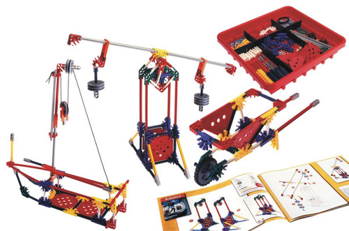 K'Nex - Intro To Simple Machines: Levers and Pulleys