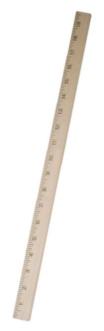 Half-Meterstick,  50 cm, hardwood