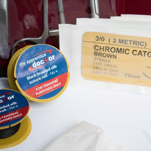 How to Suture Wounds Course & Kit