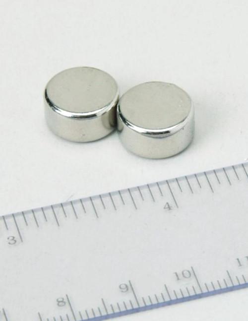 "Neodymium Disc Magnets, 0.5"", 2 pack"