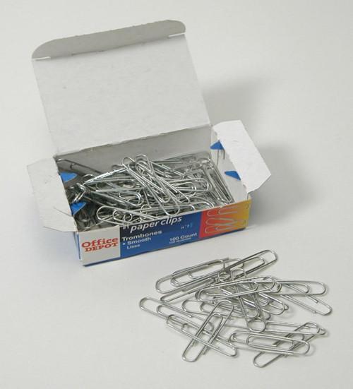 Paper Clips, small, 100/box