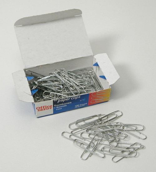 Paper Clips, small, 100/box