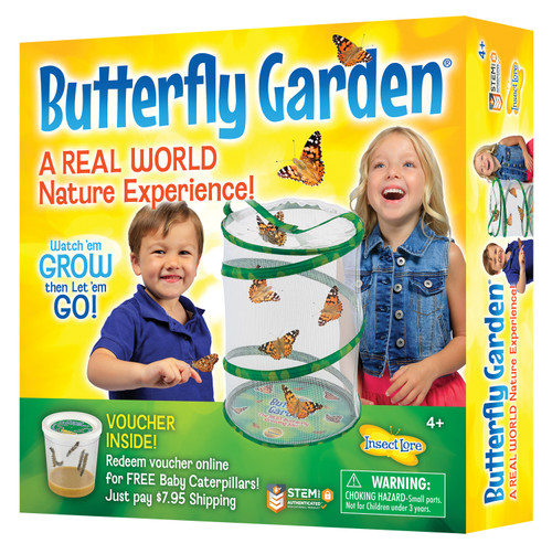 """Insect Lore Butterfly Garden, 11.5"""""""