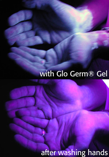 Glo Germ Gel 8 Ounce Complete Kit