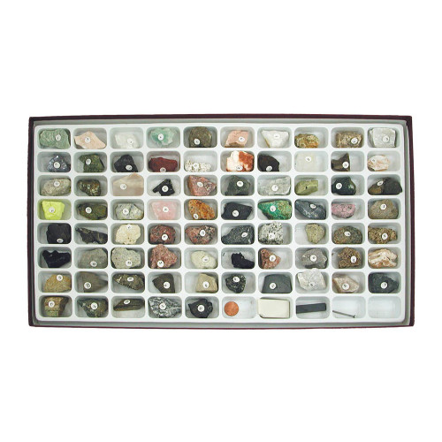 Rocks & Minerals Earth Science Collection, 75 specimens