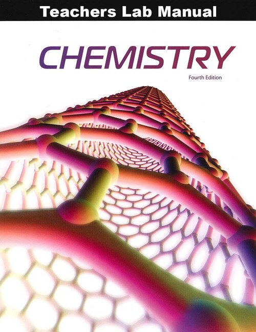 BJU Press Chemistry 11 Teacher's Lab Manual