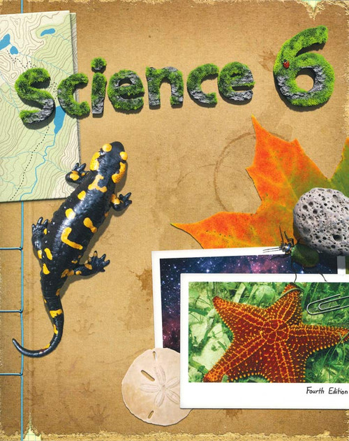 BJU Press Science 6 Textbook